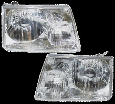 01-11 Ranger Left & Right Headlight Headlamp Lamp Light Assembly Pair L+R