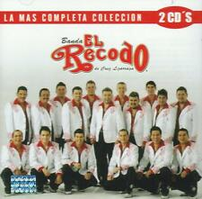 Banda el Recodo CD NEW La Mas Completa Coleccion SET Con 2 CD's 30 Canciones !