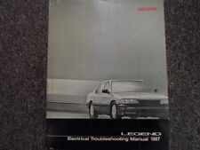 1987 Acura Legend Electrical Wiring Diagram Troubleshooting  Manual Brand New
