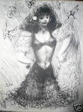 GOERG Edouard lithographie signée numéroté erotic