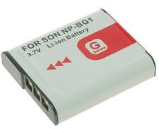 BATTERY FOR SONY NP-BG1 Cyber-Shot DSC-H20 H50 W300 WX1 DSC-W80 W90 W120 W200