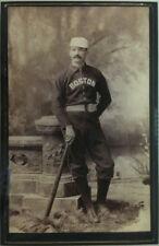 "8x12 PHOTO: MICHAEL ""KING"" KELLY IN BEANEATER UNIFORM w WRIGHT & DITSON BAT 1887"