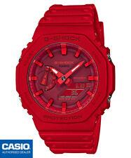 Casio G-shock GA-2100-4AER 45,4mm Caja Resina en Rojo, Correa Resina en Rojo, Reloj para Hombre