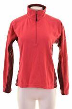 BERGHAUS Womens Fleece Jumper Sweater Size 14 Large Pink Polyester  IR06