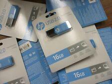 20 HP USB 2.0 FLASH DRIVE 16 GB 16GB BLUE - GW 2053