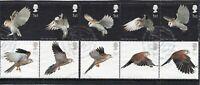 2003 Sg 2327/2336 Birds of Prey Fine Used Set of 10