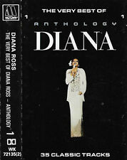 DIANA ROSS THE VERY BEST OF ANTHOLOGY CASSETTE 1 ONLY 17TRACKS