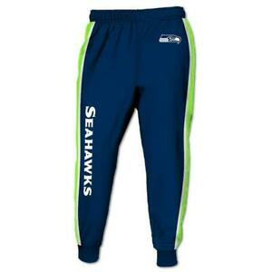 Seattle Seahawks Casual Joggers Pants Sweatpants Gym Sports Workout Trousers