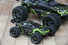 Custom Body Muddy Green for Traxxas 1:16 e Revo 7012 Brushless Brushed 1/16