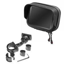 "Support de Moto & Sac imperméable Antiéblouissement PDA GPS Navi TomTom 4,3"""