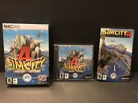Simcity 4 - deluxe edition for Mac Apple- COMPLETE Open box - CD Factory Sealed