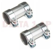 55mm Exhaust Clamp set For Many Audi & Volkswagen Models (55mm Inside Diameter)