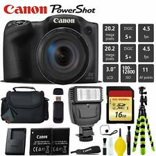 Canon PowerShot SX420 is Digital Point and Shoot 20MP Camera + Extra Battery + D