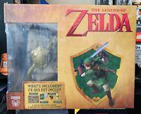 The Legend of Zelda Collectors Box Hyrule Map Throw Blanket Water Bottle Statue
