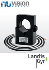 3 x LANDIS + GYR Trasformatore di corrente 100 A incl. Fly Lead correnti del sensore CLAMP