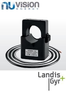 3 X LANDIS+GYR Current Transformer 100A incl. fly lead Current Sensor Clamp
