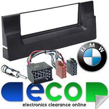 BMW X5 E53 (MK1) Single Din Fascia Panel & Car Stereo Round Pin ISO Fitting Kit