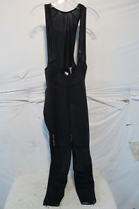 Louis Garneau Providence 2 Bib Tight No Chamois - Men's Small Black $129.95