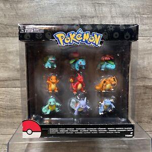 Pokemon Evolution Legacy 9 Figure Pack SEALED ~ Bulbasaur Charmander Squirtle