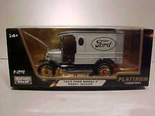 1925 FORD MODEL T PADDY WAGON Die-cast Police Car 1:24 Motormax 6 inch Silver