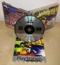 V - RALLY ps1 psx Sony PlayStation gioco game completo platinum infogrames