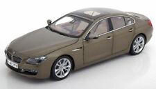 Paragon Models 2012 BMW 650i F06 Gran Coupe Matt Bronze Met. Dealer Edition 1/18