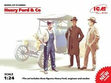 ICM 1/24 Henry Ford & Co - 3 Figurines # 24003