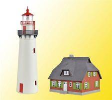 Kibri 39153 Spur H0 Leuchtturm Hiddensee mit Nebengebäude #NEU in OVP#