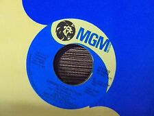 "MEL TILLIS Kissing Your Picture (Is So Cold)/Woman In The Back Of My Mind 7"" 45"