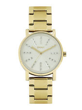 DKNY NY2417 Soho Gold Tone Women's Stainless Steel Watch 2 Yrs