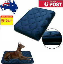Dog Crate Pad Washable Dog Bed Mat Dog Mattress Pets Kennel Pad for L/M AUS