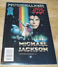 MICHAEL JACKSON - MOONWALKER 3D- BLACKTHORNE-1989- NO GLASSES - NM