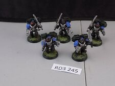 Warhammer 40k Space Marines 5 Assault Marines with Jump Packs (RD3 245)