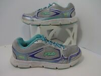 Fila Womens  Size 7.5 Athletic Shoes, Gray Teal 5HR18027-254