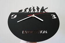 Reloj De Pared evolución De Diseño, Verde plexiglás [N-7]