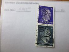EBS Germany 1941 Hitler Zusammendrucke / se-tenant pair Michel S292 U (2)
