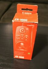 Canon ZR-1000 Zoom Remote Controller for Camcorders Control-L Lanc