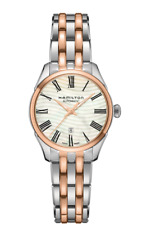 New Hamilton Jazmaster Lady Auto Mother of Pearl Dial Women's Watch H42225191