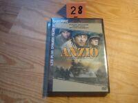 "DVD ""ANZIO"" Robert MITCHUM, Peter FALK - guerre// Comme Neuf"