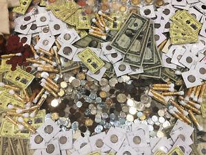 ✯ESTATE SALE ANTIQUE US COINS ✯ SILVER DOLLAR BILL & BULLION✯24K GOLD PLT COIN