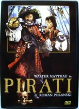 Dvd Pirati di Roman Polanski con Walter Matthau 1986 Usato