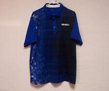 And 1 Basketball Mens Blue Golf Polo Shirt L