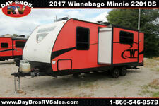 New Listing17 Winnebago Minnie 2201Ds Travel Trailer Towable Rv Camper Slide Sleeps 4