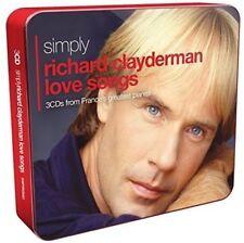 RICHARD CLAYDERMAN - SIMPLY RICHARD CLAYDERMAN (3CD TIN) 3 CD NEUF
