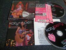 KATY PERRY / MTV unplugged /JAPAN LTD CD&DVD OBI guitar pick