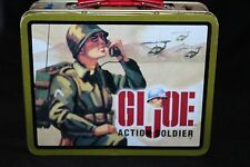 Hasbro G.I. Joe Action Soldier Tin Lunch Box Vintage