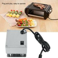 Metal Grill Electric Rotisserie Motor Rotator 110/220V 4W On/Off Switch BBQ M