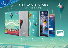 No man's Sky LIMITED COLLECTOR EXCLUSIVE EDITION jeu + Steelbook Neuf Et Scellé-en main