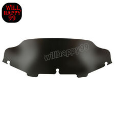 "Black 6""  Wave Windshield Windscreen for Harley Ultra Classic FLHTC 1996-2013"