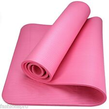 NBR antideslizante estera yoga Gimnasio Pilates Ejercer Cojín 183x61x1cm 6